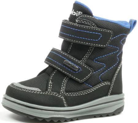 Richter chlapčenská zimná obuv 2733-641-9900 22 čierná