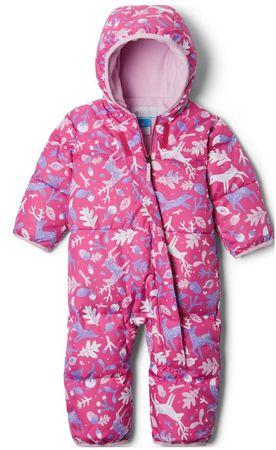 Columbia Snuggly Bunny Bunting dekliški kombinezon, roza, 80