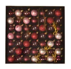 EverGreen Kolekcia gulí x 49 ks, LUX, rôzne, priemer 4 cm