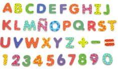 Viga Dřevěná magnetická písmenka a číslice