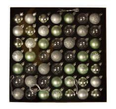 EverGreen Set kuglica x 49 kom, LUX, različite, promjer 4cm 3