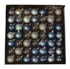 EverGreen Golyók gyűjteménye 49 db, LUX, különféle, átmérője 4 cm 4