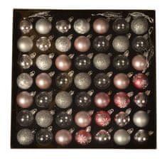 EverGreen Golyók gyűjteménye 49 db, LUX, különféle, átmérője 4 cm 6