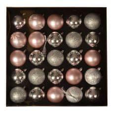 EverGreen Kolekcia gúľ x 25 ks, LUX, rôzne, priemer 6cm 11