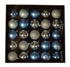 EverGreen Kolekcia gúľ x 25 ks, LUX, rôzne, priemer 6cm 9