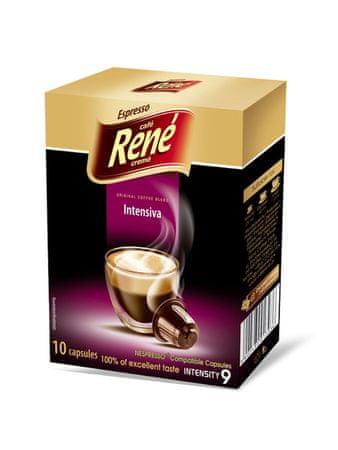 René Intensiva kapsle pro kávovary Nespresso, 10ks