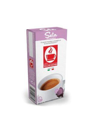 Tiziano Bonini Nespresso kávéfőzőbe alkalmas Seta kapszula készlet, 10 db