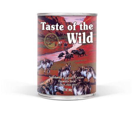 Taste of the Wild Southwest konzerva 390g