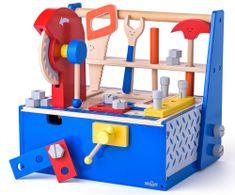 Woody DIY pult in škatla s krožno žago, otroški
