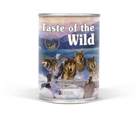 Taste of the Wild hrana za pse Wetlands konzerva, 390g