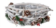 EverGreen košara od folije, ukrašena, promjer 32 cm