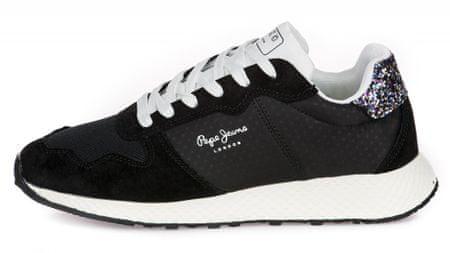 Pepe Jeans tenisówki damskie Koko Sky PLS30936 37 czarne