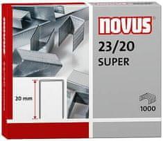 Novus sponke za zmogljivejše spenjače 23/20 Super,1000 kosov