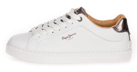 Pepe Jeans ženske teniski Adams Premium 19 PLS30924, 39, beli