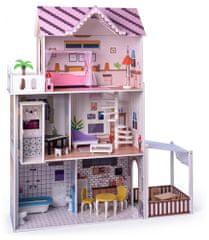"""Woody Różowy domek dla lalek """"Malibu"""""""