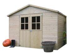 SOLID dřevěný domek SOLID ESTER 281 x 194 cm (P859)