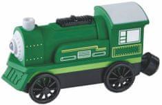 Maxim električna lokomotiva, zelena