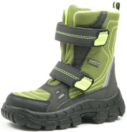 Richter fantovski zimski čevlji, zeleni, 31