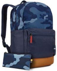 Case Logic Commence batoh 24 l (modrý vzor/rascová hnedá) CL-CCAM1116BC