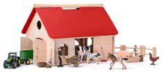 """Woody Farma s príslušenstvom a zvieratami """"Romano"""""""