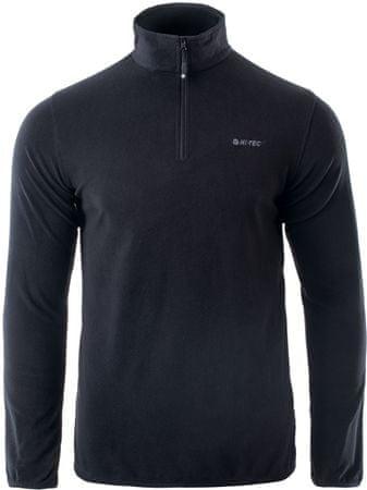 Hi-Tec Damis Black moški pulover iz flisa, L