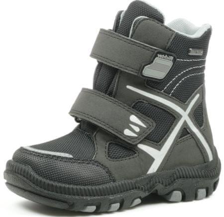 Richter fantovski zimski čevlji, črni, 30