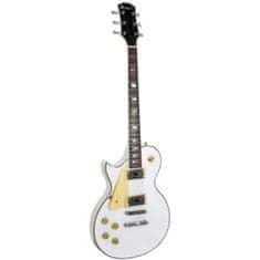 Dimavery  LP-700L elektrická kytara levoruká, bílá