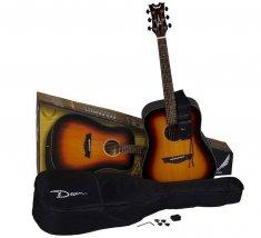 Dean Guitars  AXS Prodigy Acoustic Pack Tobacco Sunburst