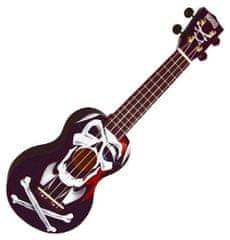 Mahalo  Soprano Ukulele Pirate Black