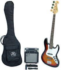 SX  SB1 Bass Guitar Kit 3 Tone Sunburst