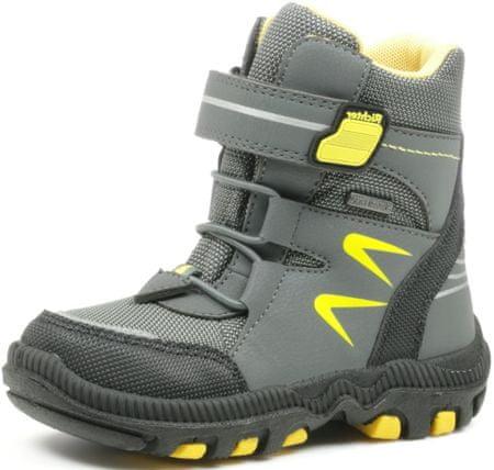 Richter chłopięce buty zimowe 8535-641-6300 28 szare