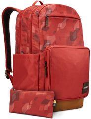 Case Logic Query batoh 29 l (tehlovo červená so vzorom / rascovo hnedá) CL-CCAM4116BC