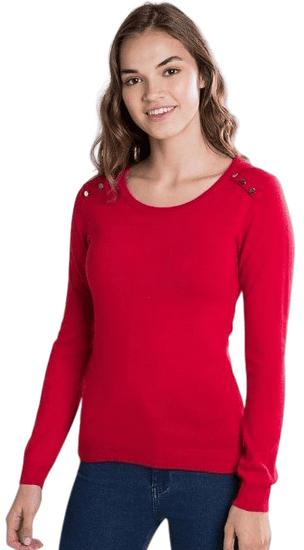 William de Faye dámský svetr WF508 XXL červená