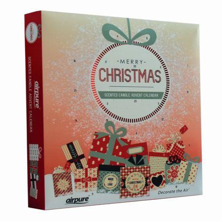Airpure Adventní kalendář Vánoční ozdoba
