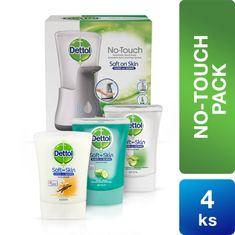 Dettol paket - beskontaktni dozator sapuna + 4 punjenja