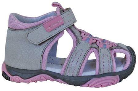 Protetika dekliški sandali Sid, 19, bež