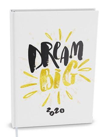 Denný diár - Adam - lamino - B6 - Dream