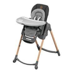 Bebeconfort kompaktní skládací jídelní židle Minla Essential - šedá/grafit