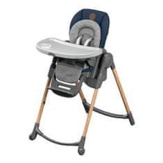Bebeconfort kompaktní skládací jídelní židle Minla Essential - šedá/modrá