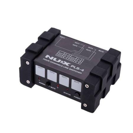 Nux  PLS-4 Four-channel Line Switcher