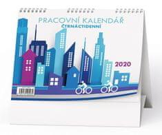 Kalendář stolní pracovní Čtrnáctidenní