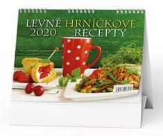 Kalendář stolní žánr. týd. Levné hrníčkové recepty (červený hrnek)