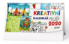 Kalendář stolní žánr. týd. Kreativní kalendář pro děti