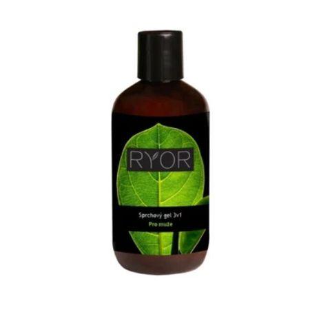 RYOR Men tusfürdő férfiaknak 3 az 1-ben 250 ml
