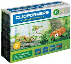 CLICFORMERS Mini žuželke, komplet za sestavljanje