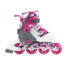Nils Extreme Dětské kolečkové brusle NILS EXTREME NJ 3012 A růžové