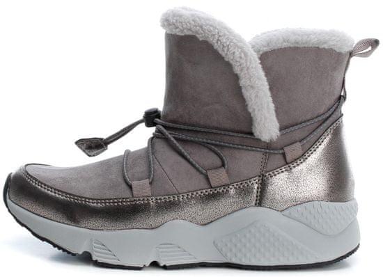 XTI dámská kotníčková obuv 49514 41 šedá