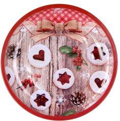 TORO Taca świąteczna czerwona