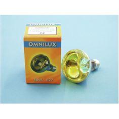 Omnilux 230V/60W E27 , žlutá
