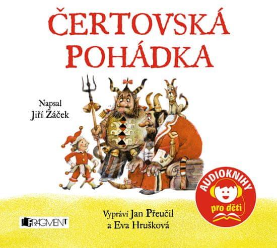 Žáček Jiří: Čertovská pohádka - CD